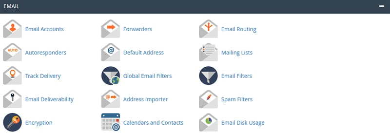 cPanel Email Category