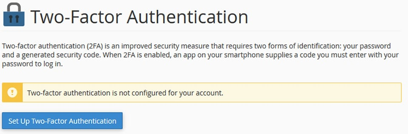 Two Factor Authentication Overview
