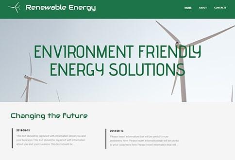 Energy Templates